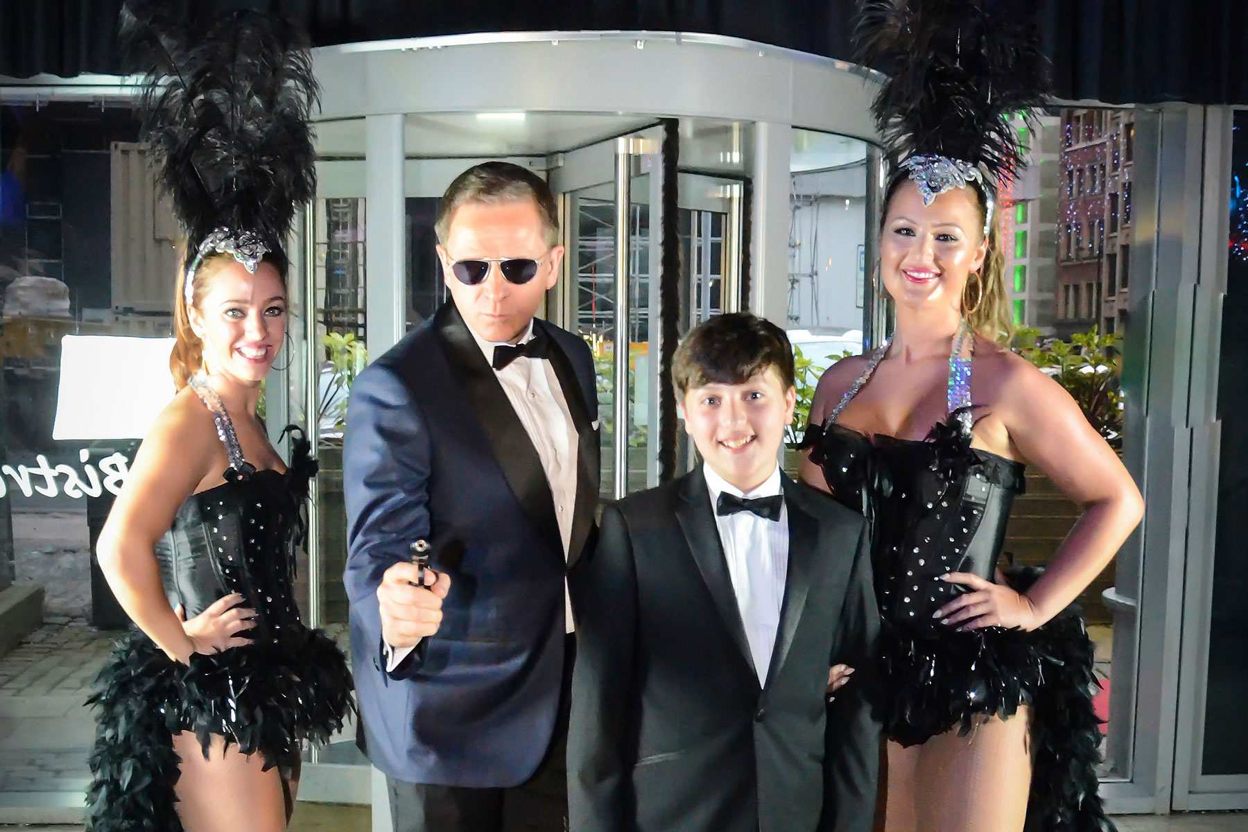 Bond Theme Bar Mitzvah